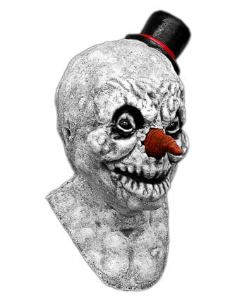 Scary Snowman latex mask