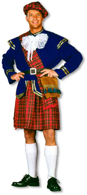 Scotsman Costume Deluxe