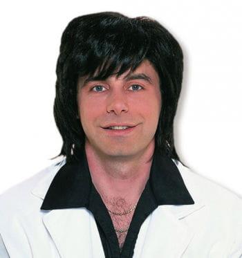 Black 70s Wig Bruno