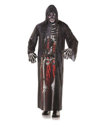Grim Reaper robe with photo print