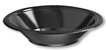 Small Plastic Bowl Black