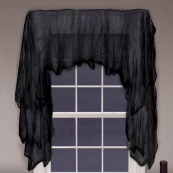 Groovy Halloween curtain fabric