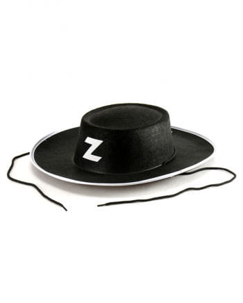 Black Zorro Hat