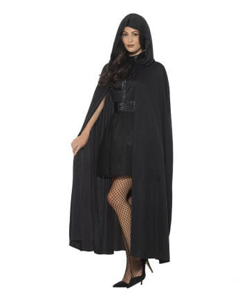Black Cape as hooded cape Deluxe