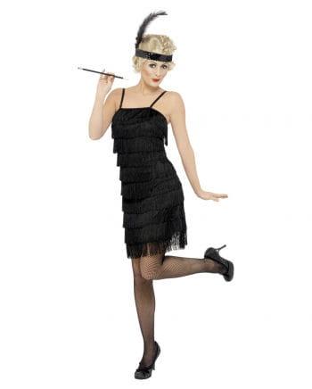 Charleston Kleid mit Stirnband Plus Size