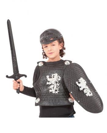 Schwarzes Ritter Set für Kinder