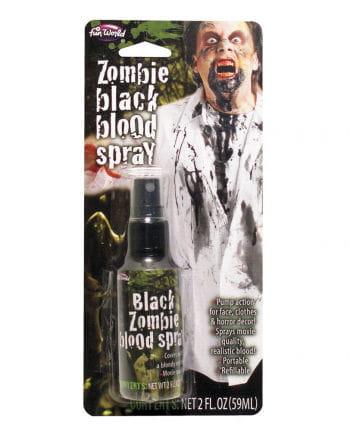 Dunkles Zombie Blutspray