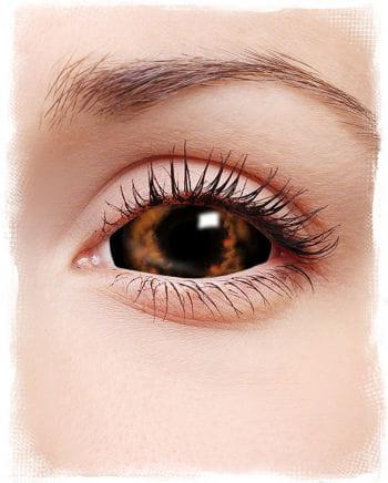 Sclera Kontaktlinsen orange/rot