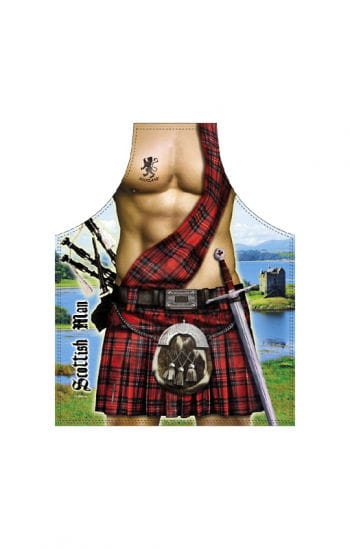 Scottish Man Apron
