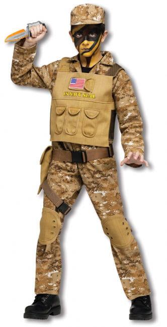 Navy Seal Kids Costume