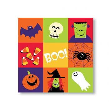 Napkins Spooky Friends