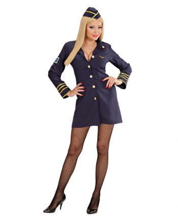 Sexy Stewardessen Kostüm Large