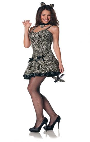 Sexy Leoparden Kleid XL