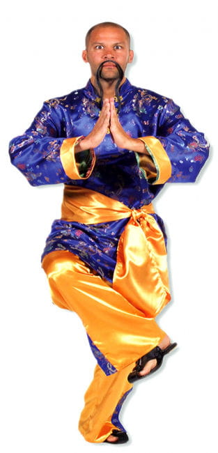 Shaolin Style Costume XL