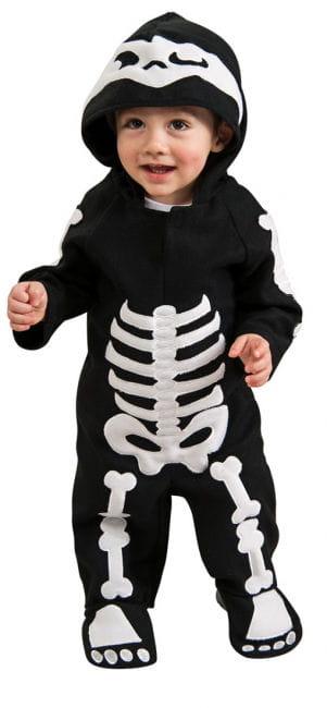 Skeleton Kleinkinder-Kostüm