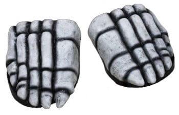 Skelettfüße Schuhüberzieher