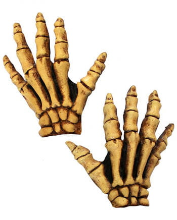 Skelett Handschuhe Deluxe