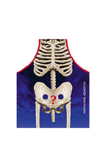 Skelett Schürze