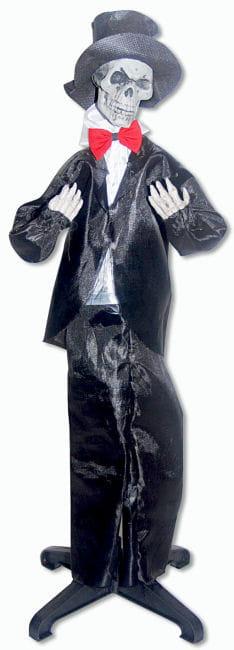 Skelettierter Bräutigam Hänge und Standfigur