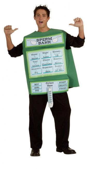 Sperma Bank Kostüm