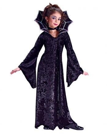 Spinnen Vampir Prinzessin Kinderkostüm Medium