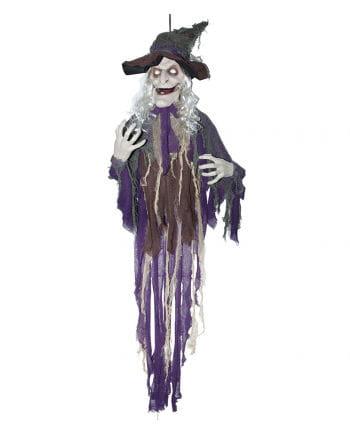 Talking Witch Halloween hanging prop 160 cm