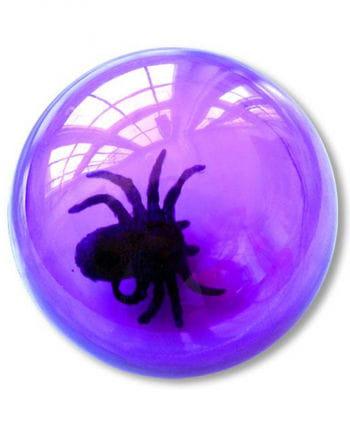 Springball mit Spinne violett