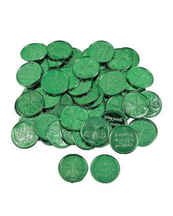 St. Patrick's Day Glücksmünzen