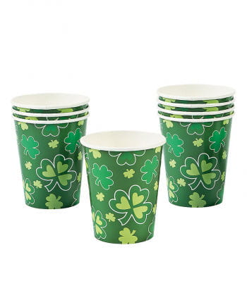 St. Patrick`s Day Paper Cup