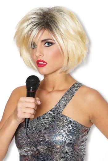 Star Perücke 80er blond
