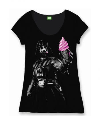 Star Wars Damen T-Shirt Darth Vader Ice Cream