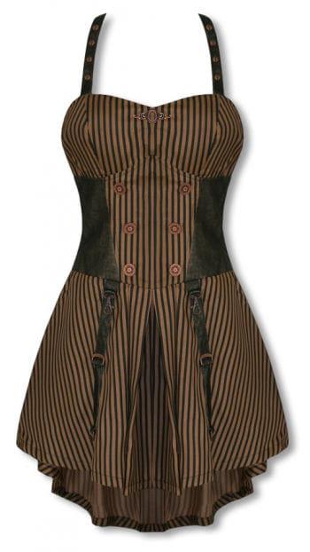 Steampunk Kleid knielang