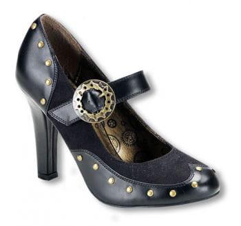 Steampunk Schuhe mit Riemen 38 38