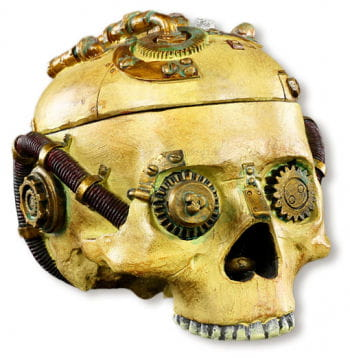Steampunk Skull Box