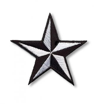 Star Patch black