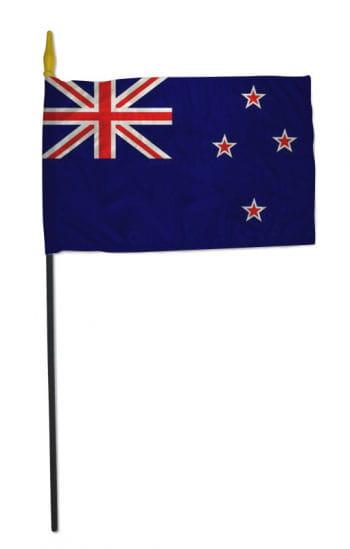 Kleine Stockflagge NEUSEELAND