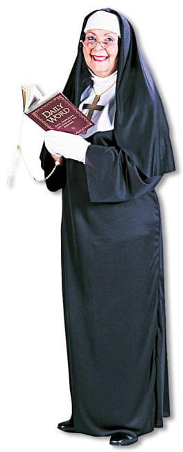 Super Nonnen Kostüm Plus Size