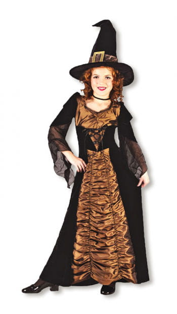 Taffeta Witch Child Costume. M