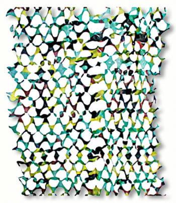 Tarnnetz dunkelgrün/hellgrün