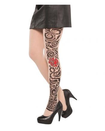 Tattoo Strumpfhose