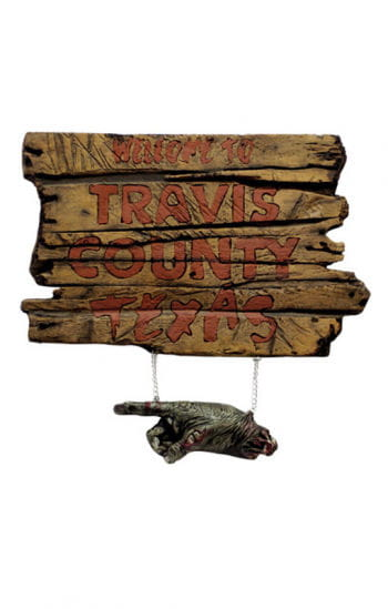Texas Chainsaw Massacre Sign