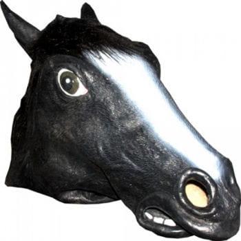 Animal Mask Horse Black