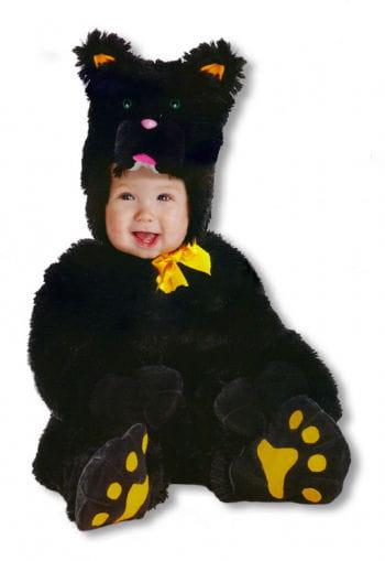 Kleine schwarze Katze Kinderkostüm Xtra Large