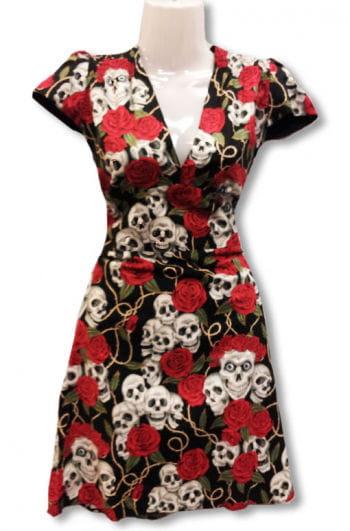 Skull and Roses Dress