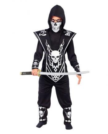 Totenkopf Ninja Kinderkostüm