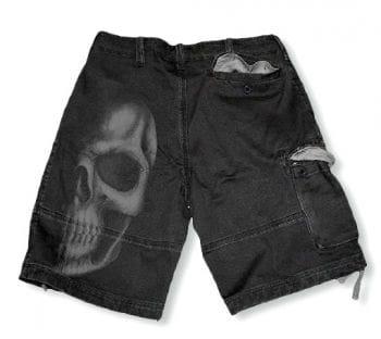Skull Short gray