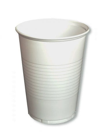Drinking Cups White 50 PCS 0,4 l