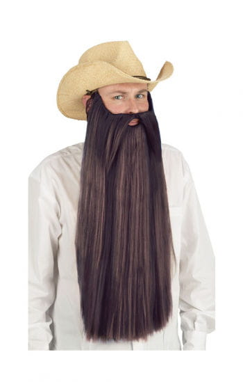Ultra long beard brown