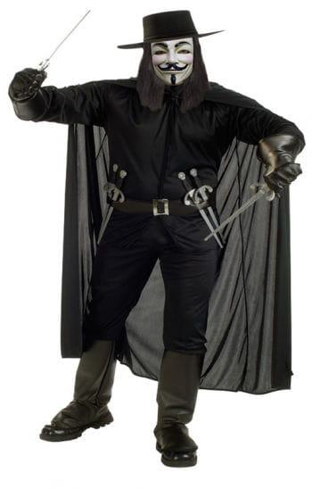 V for Vendetta Deluxe Costume XL