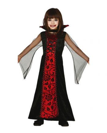 Vampir Comtesse Kinderkostüm